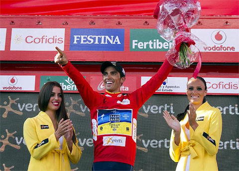 La Vuelta 2012, wild ride into Lastrillas