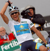 Contador wins on the Angliru