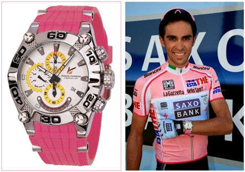 Alberto's Giro watch by Cristian Lay