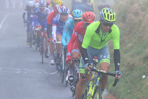 Contador on point in Stage 4