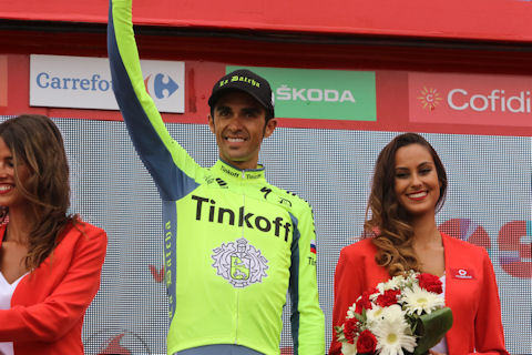 Contador Most Combative at Formigal
