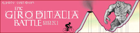 94th Giro d'Italia monsters