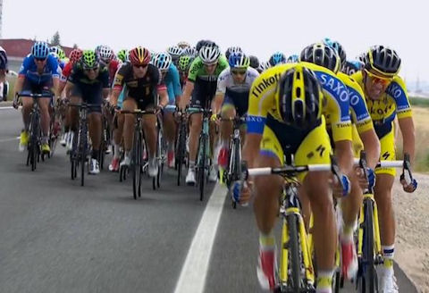 Tinkoff-Saxo teamwork in Vuelta Stage 8