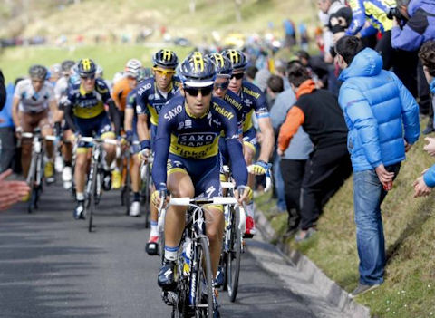 Saxo-Tinkoff keep Contador safe all day in PV Stage 1