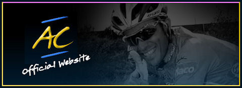 Alberto Contador official website