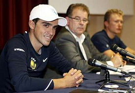 Press conference at Pisa training camp