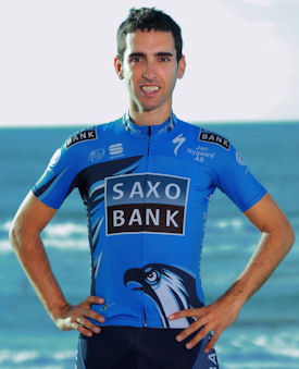 Dani Navarro of Team Saxo Bank